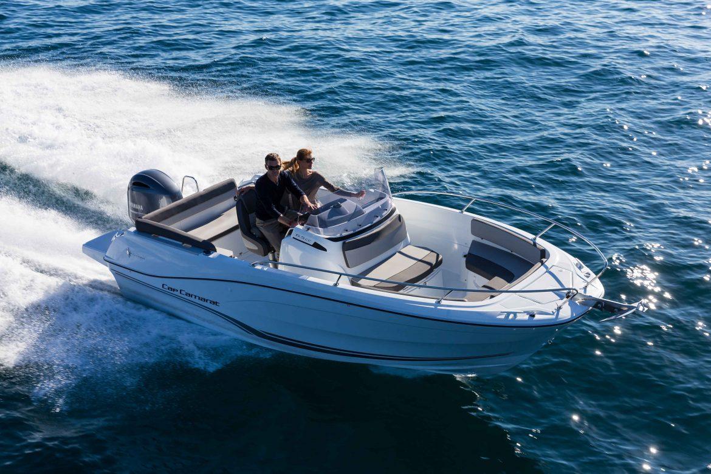Essai bateau sur le Cap Camarat 6.5 CC