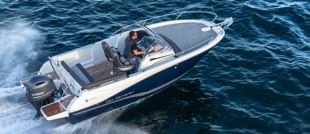Essai bateau sur le Cap Camarat 6.5 WA