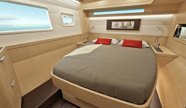 cabine et couchette du lagoon 42