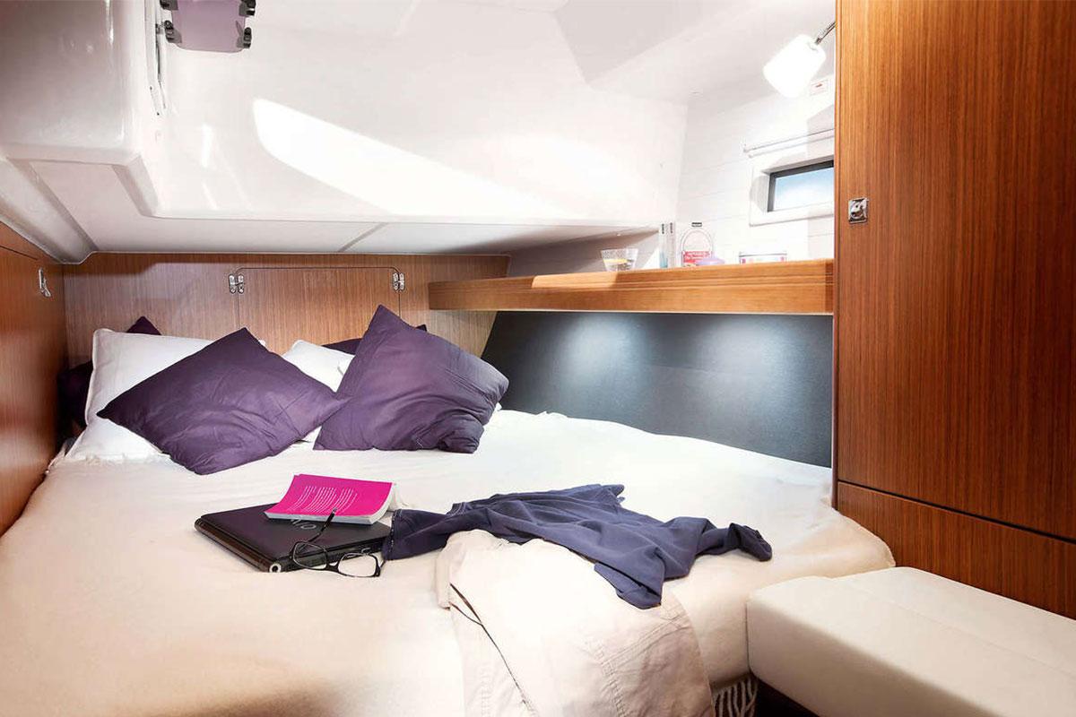 intérieur couchette bavaria 46 cruiser