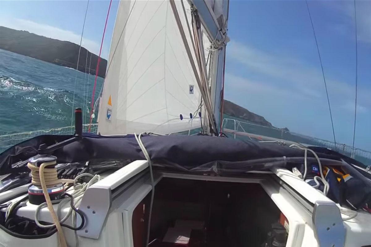 naviguer sur oceanis 31