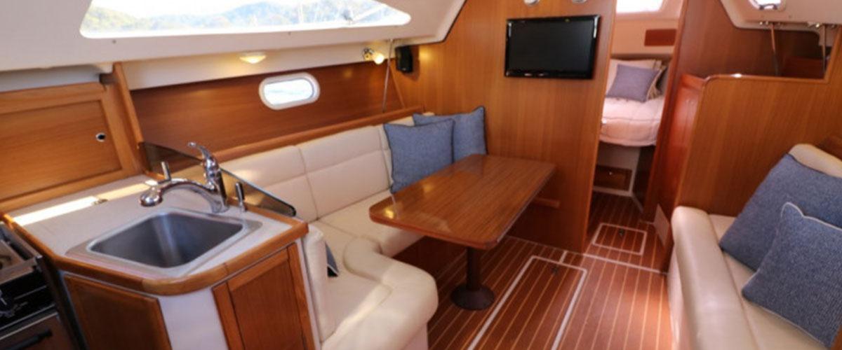 aménagement intérieur bateau