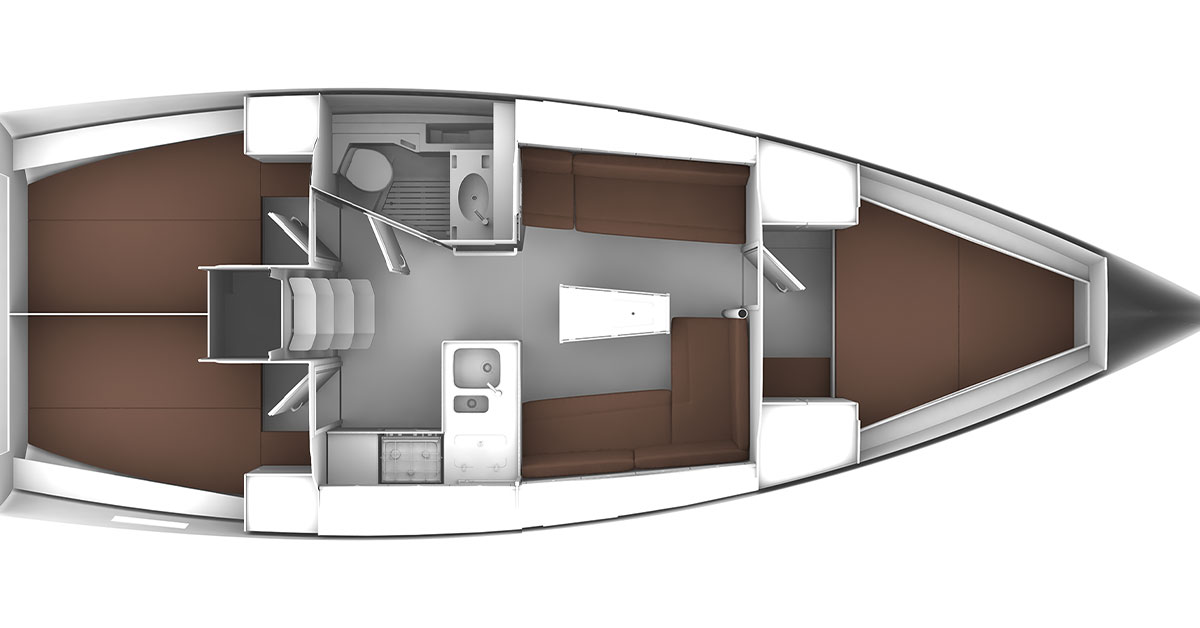 plan bavaria 37 cruiser