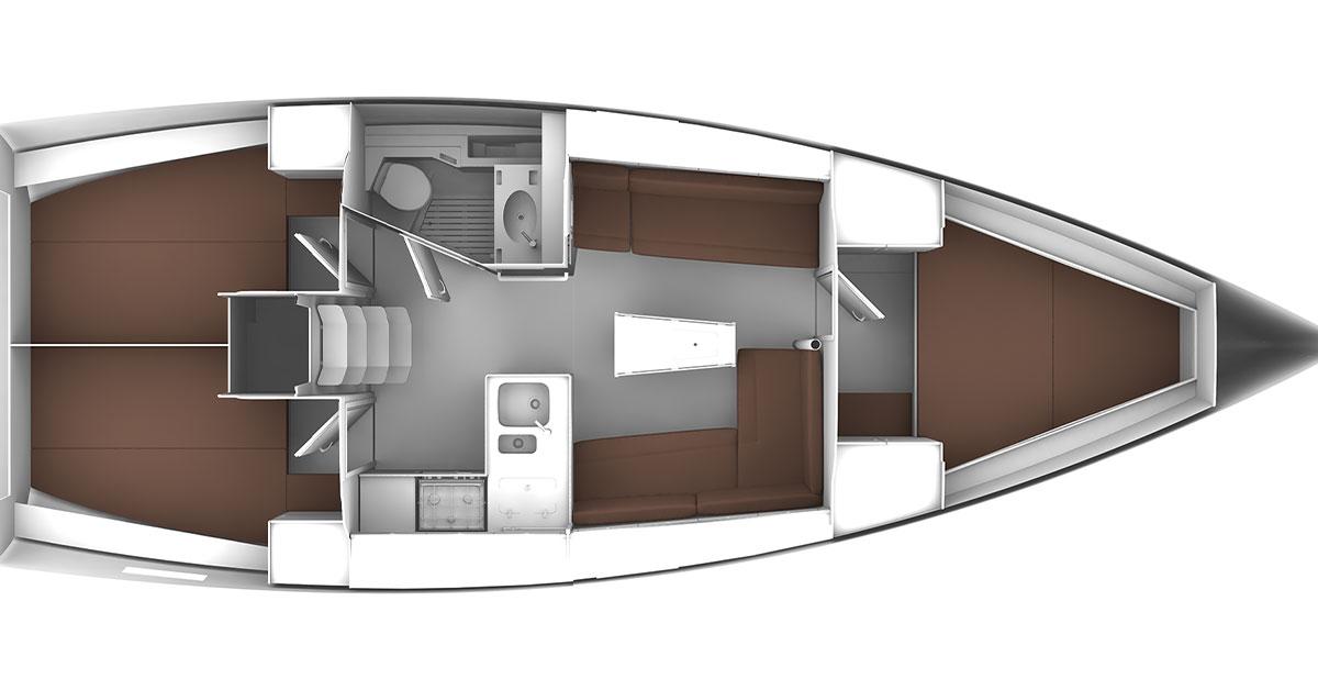 plan bavaria 37 cruiser